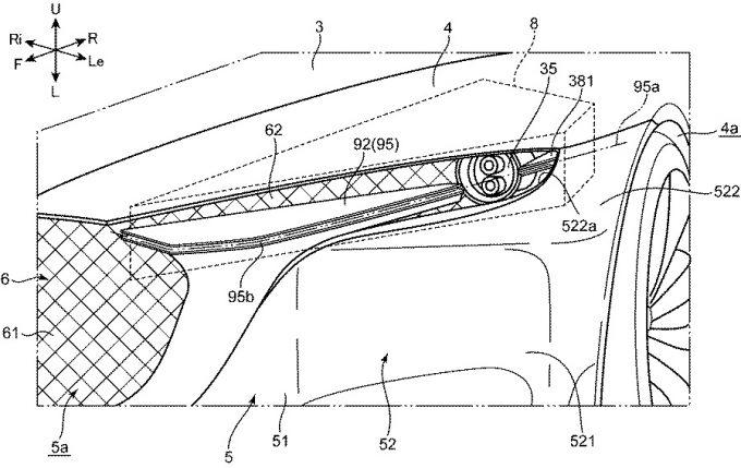 [特許]マツダ、VISION COPUEに関連した特許を取得