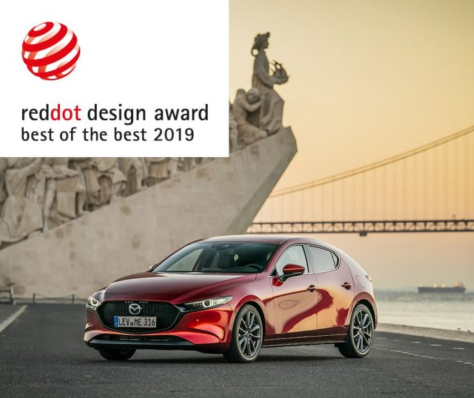 新型Mazda3が「Red Dot: Best of the Best」を受賞