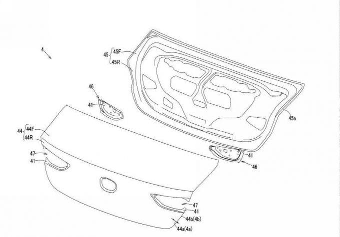 マツダ、新型Mazda3のバックドアに関する特許を2件取得
