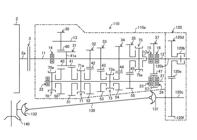 マツダ、FR車用マニュアルトランスミッションの特許を取得