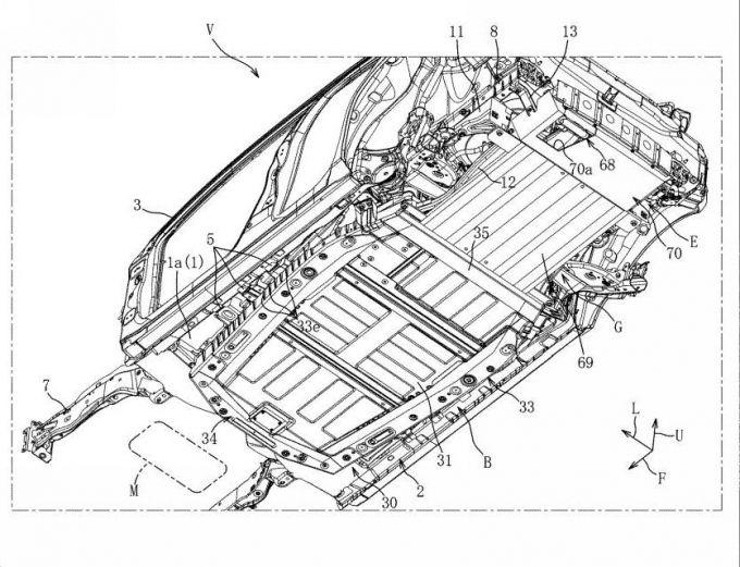 マツダ、レンジエクステンダーEVの構造に関する特許を取得