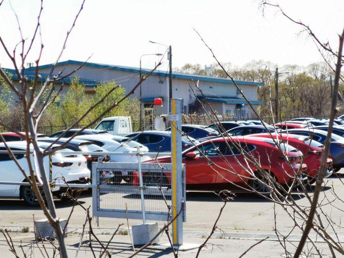 新型Mazda3を苫小牧で確認!全道配備も近い??