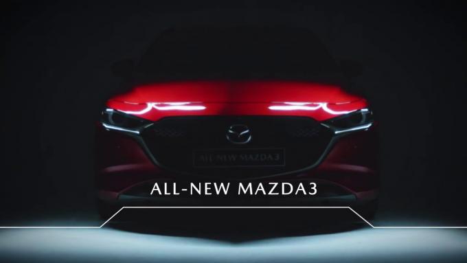 英国マツダ、新型Mazda3のキーフィーチャーを動画で紹介