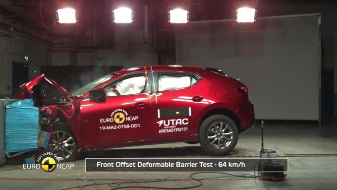 2019 Mazda3、ユーロNCAPで最高評価・五つ星を獲得!