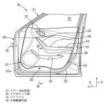 [特許]マツダ、降車しやすいドアの構造に関する特許を出願