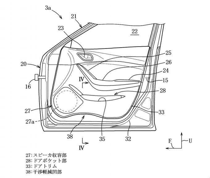 マツダ、降車しやすいドアの構造に関する特許を出願