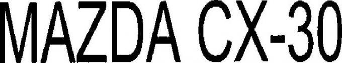 マツダ、米国で「MAZDA CX-30」を商標を出願