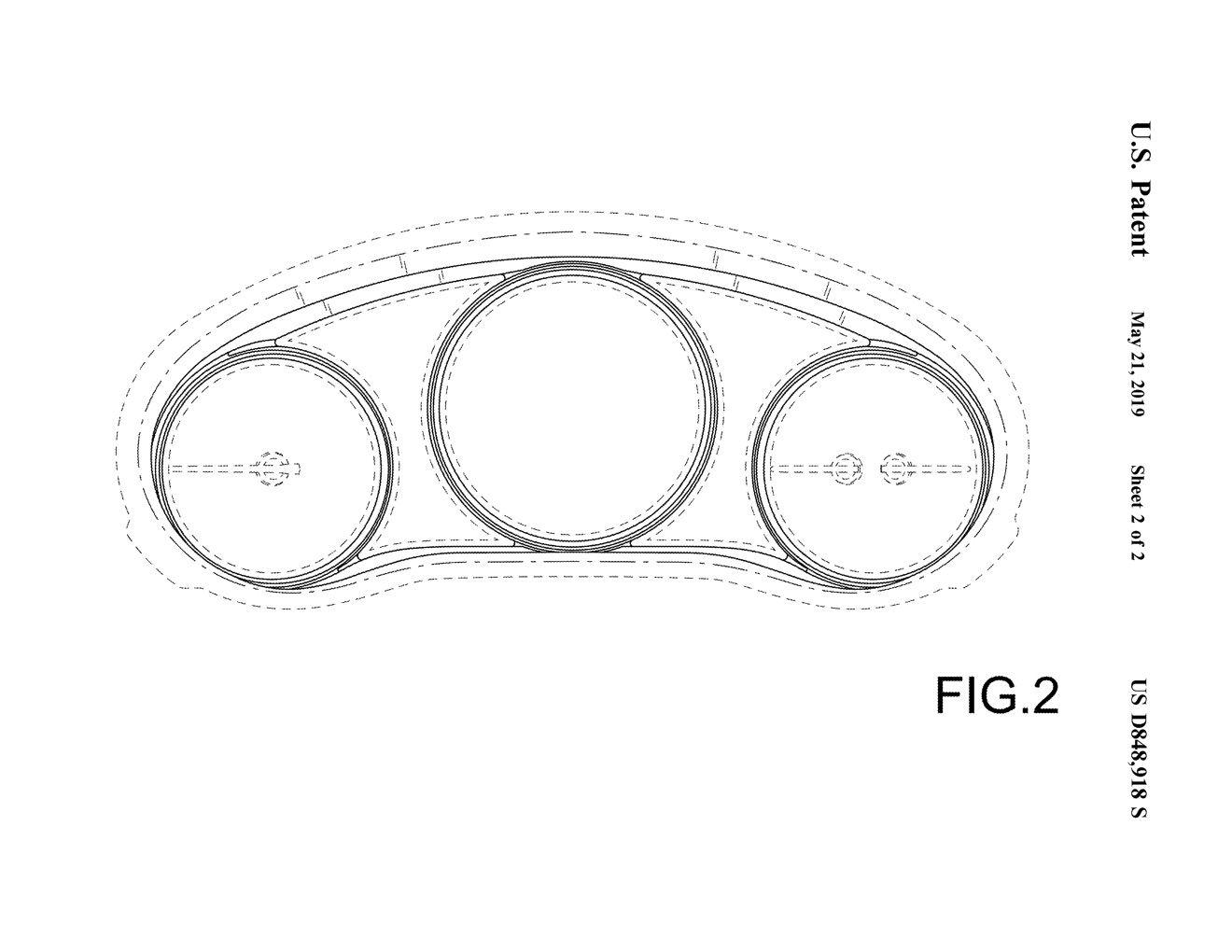 マツダ、米国で新型Mazda3のメーターに関する意匠を登録