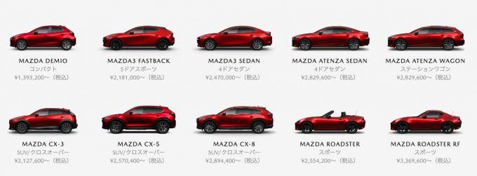 2019年5月新車乗用車販売台数ランキングにMazda3登場!