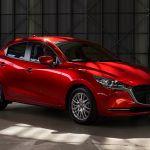 マツダ、前後の意匠変更と合わせデミオを「Mazda2」として9月に発売