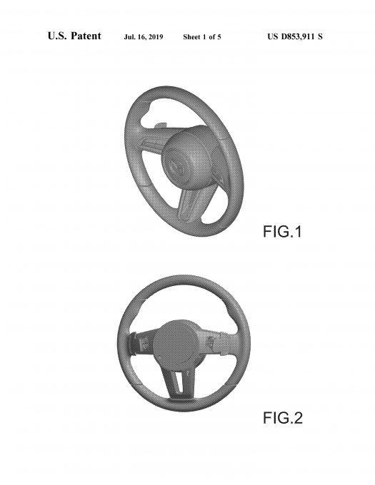 マツダ、米国で新型ハンドルのデザインパテントを取得