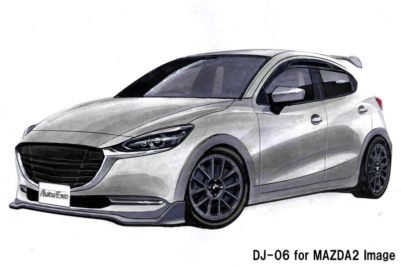 オートエクゼ、新型Mazda2用「DJ-06」を開発中