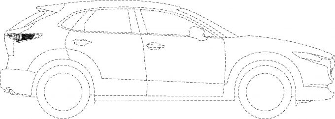 [意匠登録]マツダ、CX-30のテールランプを登録