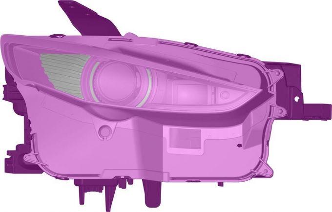 [意匠登録]マツダ、CX-30のヘッドランプを登録