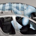 Mazda3も装備するニーエアバッグは、IIHSによるとその効果は小さいそうだ