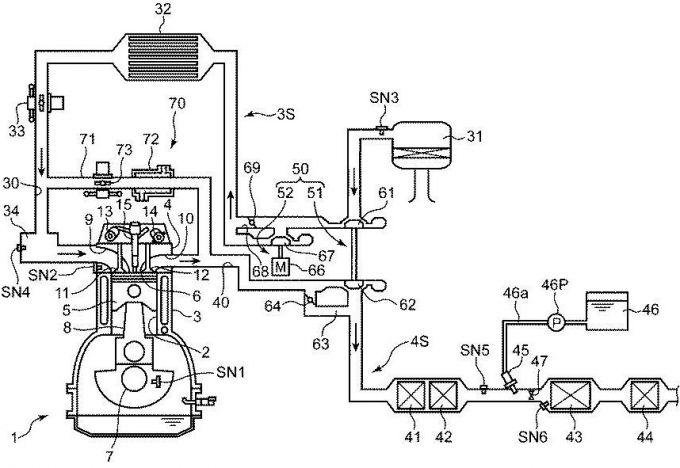 マツダ、尿素水を使った排ガス浄化装置の特許を取得