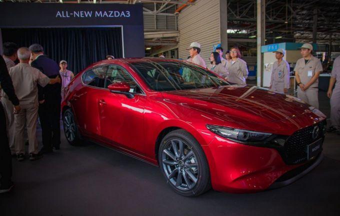 マツダ、タイで新型Mazda3の生産を開始、9月から販売