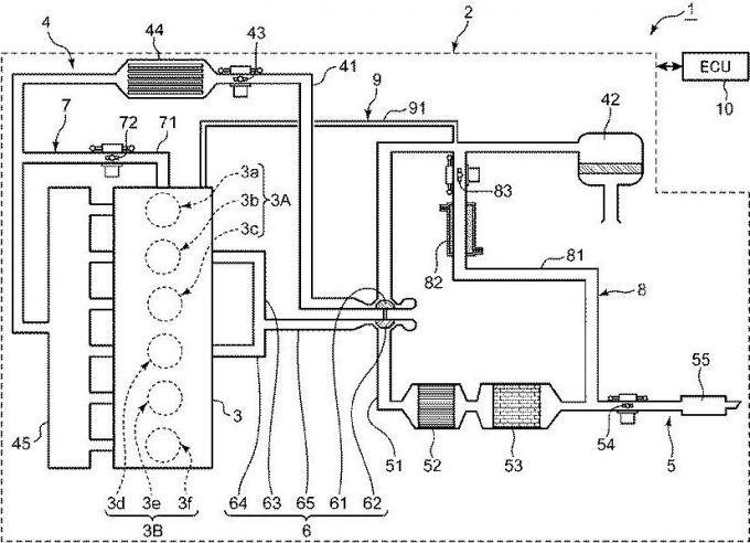 マツダ、直6ディーゼルエンジンを想定した特許を出願