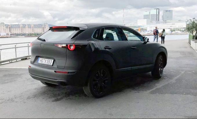 マツダのEVテスト車両がノルウェーで目撃される