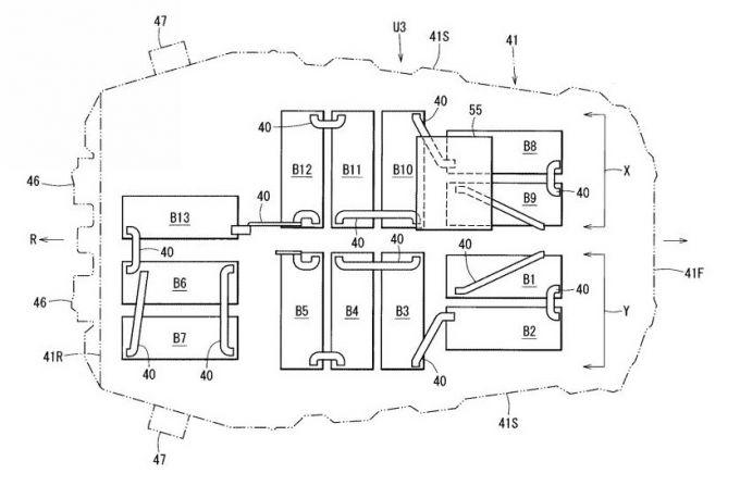 マツダ、EVの構造と組立方法に関したと特許を出願