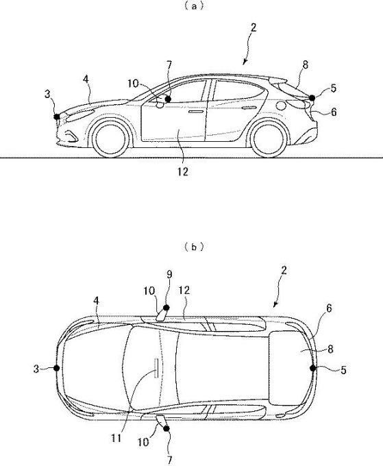 マツダ、「360°ビュー・モニター」に関わる特許を取得