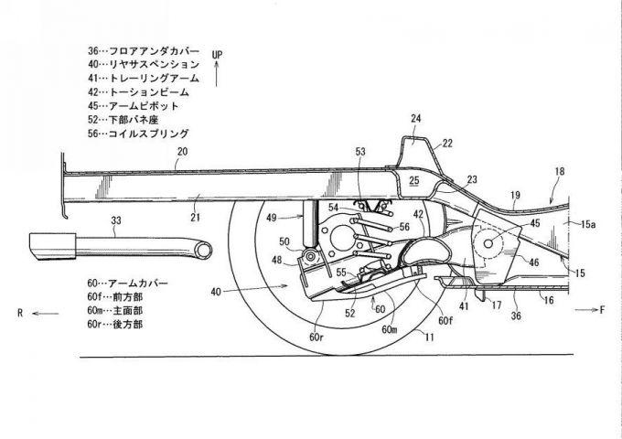 マツダ、新型Mazda3の車体構造に関する特許をどどっと出願