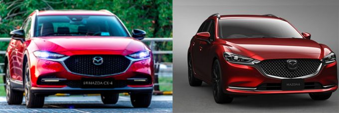 一汽マツダ、新型CX−4を発表。内装色にバーガンディを採用