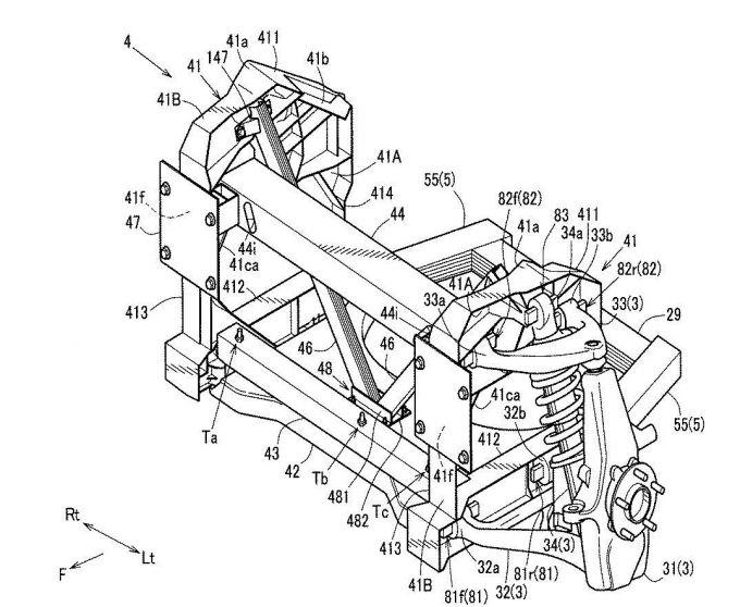 マツダ、アルミ製スペースフレーム構造に関する特許を出願