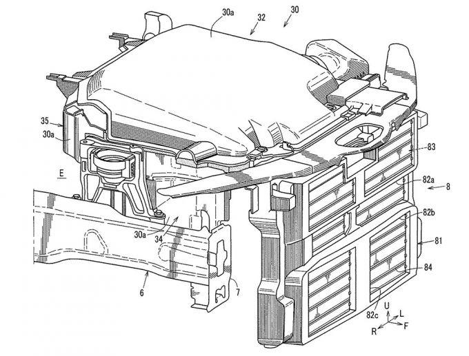 マツダ、グリルシャッター制御装置の特許を取得