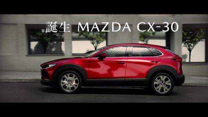 マツダ、新世代コンパクトSUV CX-30のTV CMを公開