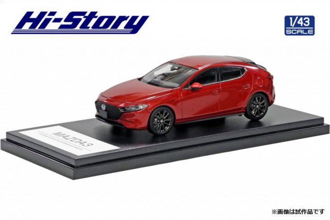 インターアライド、1/43 Mazda3ミニカーを2019年12月発売