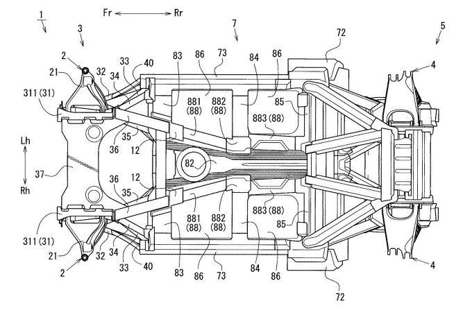 マツダ、再びスペースフレーム構造に関する特許を出願