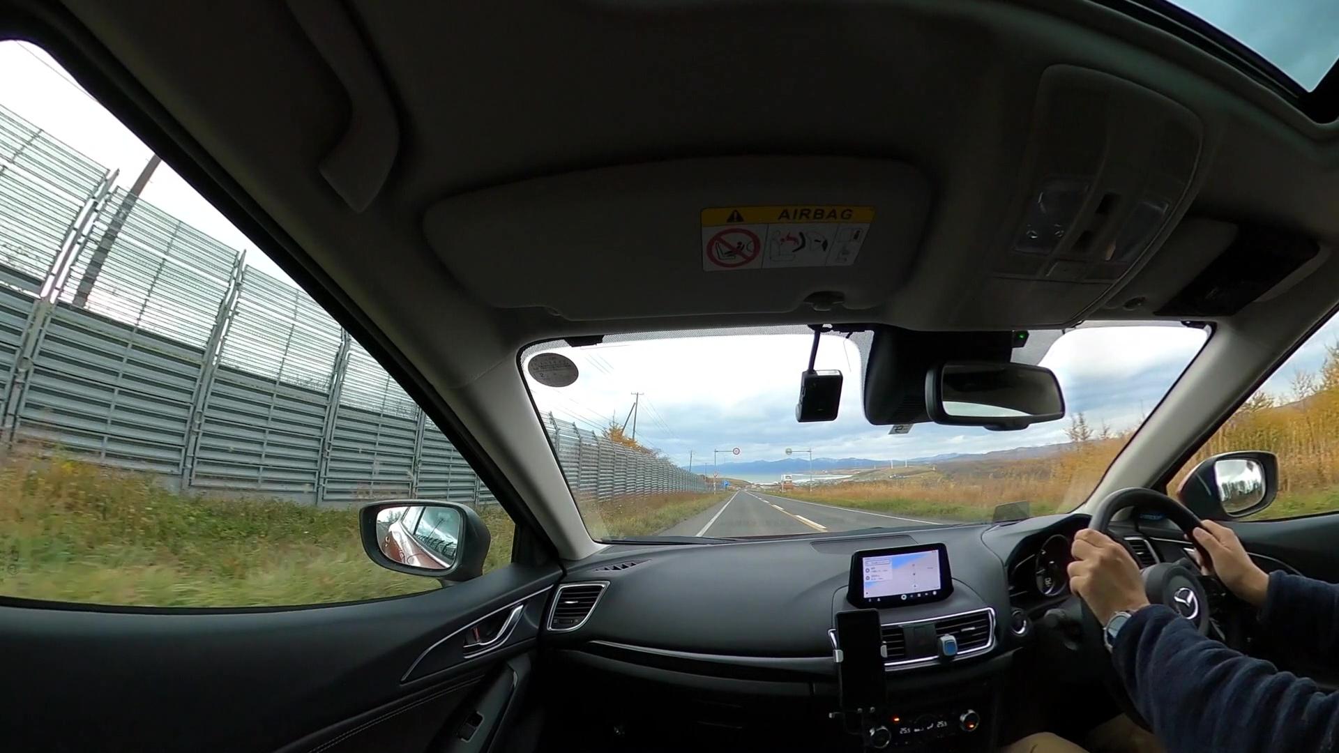 [動画]見晴らしのいい坂道をGoPro MAXで撮影