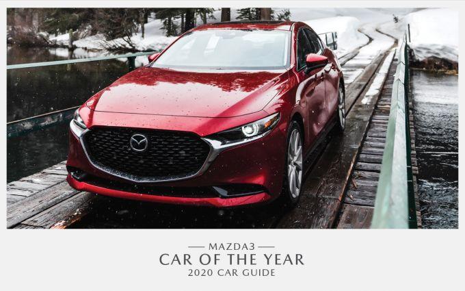 Mazda3、カナダで「Best New Car of the Year」に選ばれる