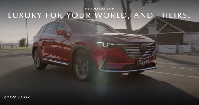 豪州マツダ、2020 CX-9を発表。2020年1月発売