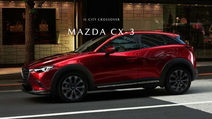 伊マツダ、M Hybridを搭載した新しいマツダCX-3を近日公開