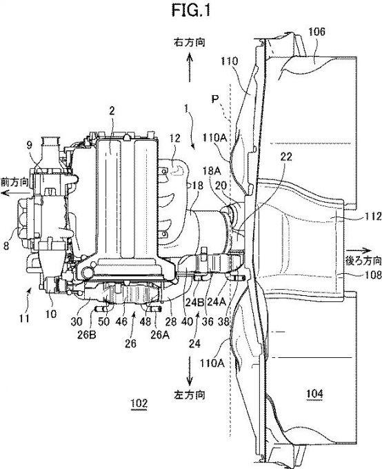 マツダ、圧縮自己着火式エンジンの排気装置の特許を取得