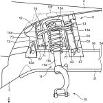 [特許]マツダ、FR車のフロントサスペンションまわりの構造で特許を出願