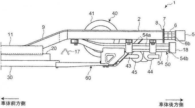 マツダ、レンジエクステンダーEVの車体構造の特許を出願