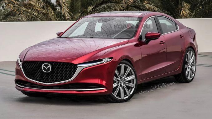 次世代Mazda6の予想CGが公開されています(2)