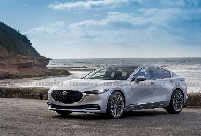 次世代Mazda6の予想CGが公開されています