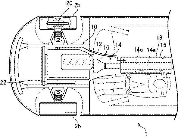 マツダ、インホイールモータを使った駆動装置の特許を出願