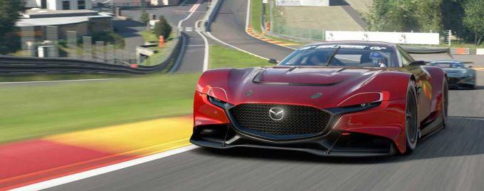 マツダ、「MAZDA RX-VISION GT3 CONCEPT」を提供開始