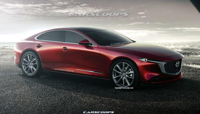 次世代Mazda6の予想CGが公開されています(3)
