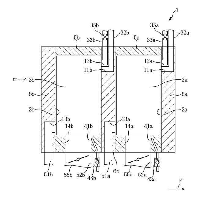 マツダ、ロータリーエンジンの構造に関する特許を出願