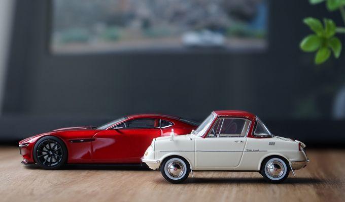 マツダコレクション、多くのモデルカーが在庫なしに