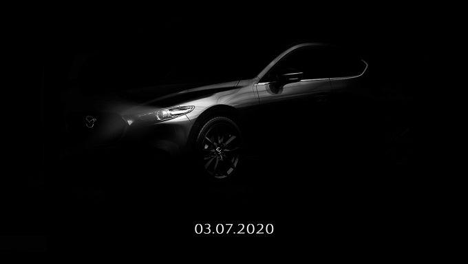 マツダメキシコ、Mazda3ターボモデルのティーザ画像を公開
