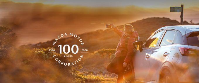 マツダ、100周年 MAZDA THANKS FAIRを開催中