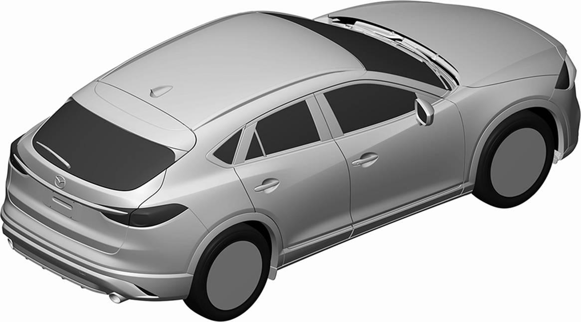 [意匠登録]マツダ、CX-4のエクステリアデザインを登録
