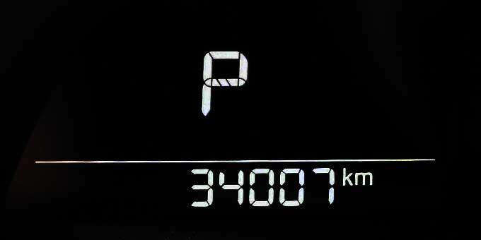 マツダ アクセラ(BM2AS)でドライブ 34000km
